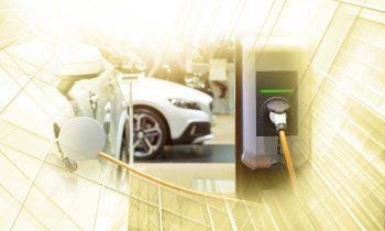 Aufladen eines Electroautos